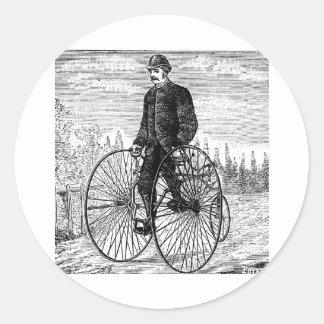 Alta bicicleta Trike de la rueda de la rueda tres Etiqueta Redonda