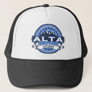 Alta Blue Trucker Hat
