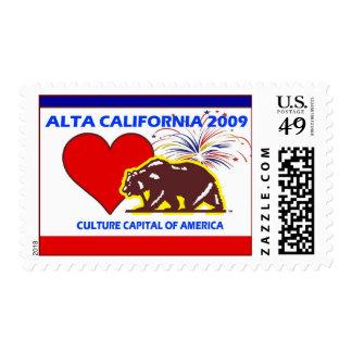 ALTA CALIFORNIA 2009 Culture Capital of America Stamp