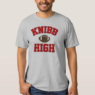 Alta camiseta del fútbol de Knibb Remera