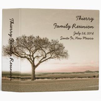 Alta carpeta de la reunión de familia del país