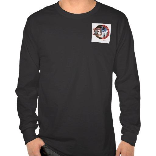 Alta casa de campo de Ridge Camiseta