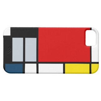Alta composición del Res Piet Mondrian iPhone 5 Case-Mate Funda