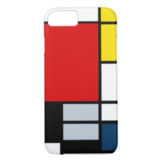 Alta composición del Res Piet Mondrian Funda iPhone 7