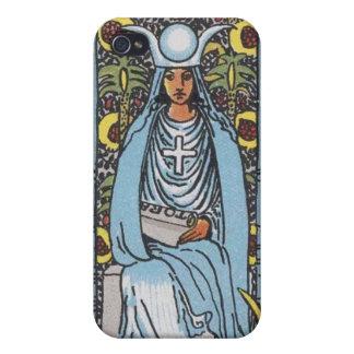Alta cubierta del iphone de la sacerdotisa iPhone 4/4S carcasa
