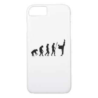 alta evolución del retroceso de los artes funda iPhone 7