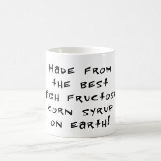 Alta fructosa taza de café