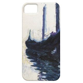 Alta góndola del Res Claude Monet en Venecia iPhone 5 Carcasas