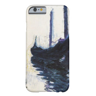 Alta góndola del Res Claude Monet en Venecia Funda Para iPhone 6 Barely There