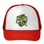 Alta gorra de béisbol cinco