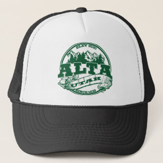 Alta Green Logo Trucker Hat