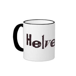 Alta Helvetica Mugs