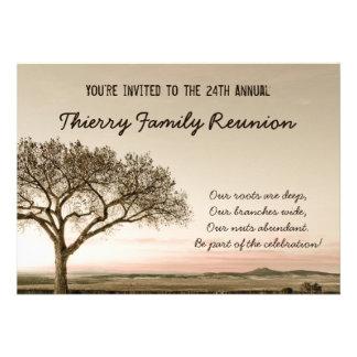 Alta invitación de la reunión de familia del país