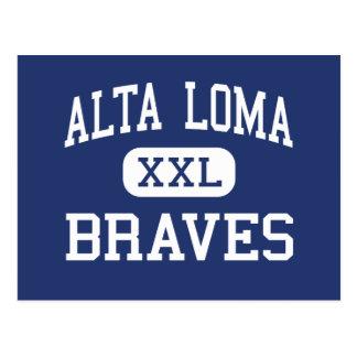 Alta Loma - Braves - High - Rancho Cucamonga Postcard