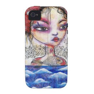 Alta marea del alma Case-Mate iPhone 4 carcasas