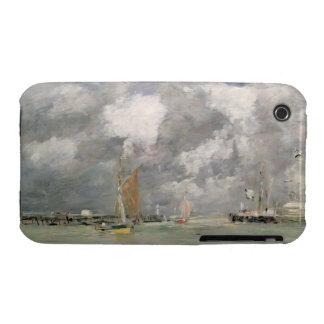 Alta marea en Trouville, c.1892-96 (aceite en el Carcasa Para iPhone 3