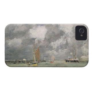 Alta marea en Trouville, c.1892-96 (aceite en el Carcasa Para iPhone 4