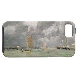 Alta marea en Trouville c 1892-96 aceite en el p iPhone 5 Cárcasas