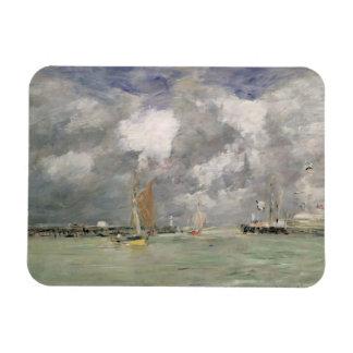 Alta marea en Trouville, c.1892-96 (aceite en el p Iman De Vinilo