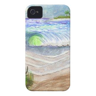 Alta marea iPhone 4 carcasas