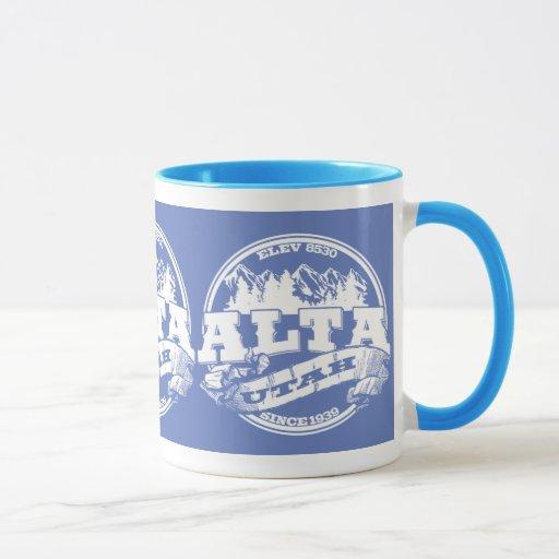 Alta Old Circle Light Blue Mug