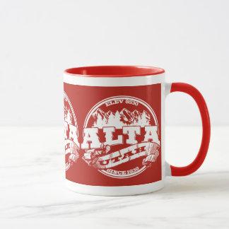 Alta Old Circle Red Mug
