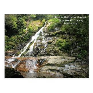 Alta postal de las caídas de los bajíos