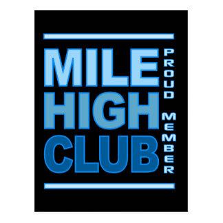 Alta postal del club de la milla