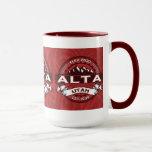 Alta Red Ringer Mug
