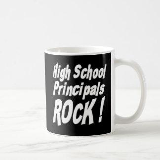 ¡Alta roca de los directores de escuela! Taza