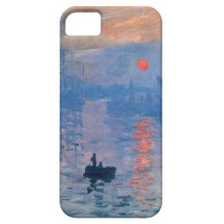 Alta salida del sol de la impresión del Res Claude iPhone 5 Coberturas