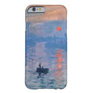 Alta salida del sol de la impresión del Res Claude Funda De iPhone 6 Barely There