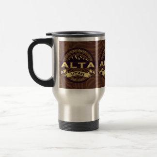 Alta Sepia Travel Mug