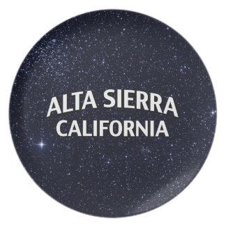 Alta Sierra California Platos