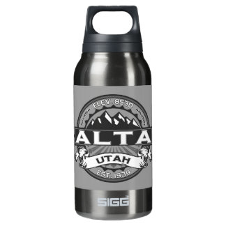 Alta Silver Insulated Water Bottle