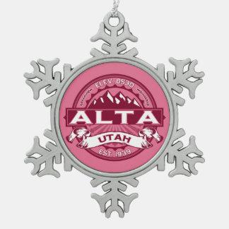Alta Snowflake Ornament