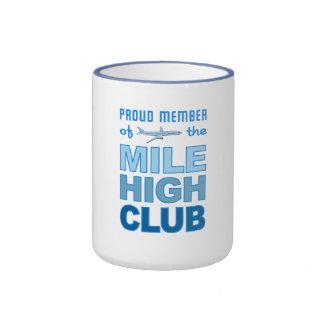 Alta taza del club de la milla - elija el estilo y