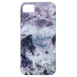 Alta tormenta del Res Monet en la belleza iPhone 5 Funda