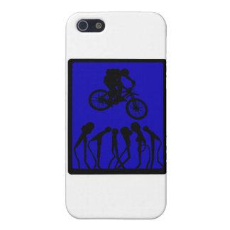 Alta trainera de la bici iPhone 5 cárcasas