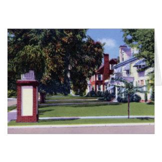 Alta Vista Neighborhood Greenville South Carolina Card