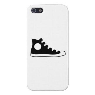 Alta zapatilla de deporte superior iPhone 5 coberturas
