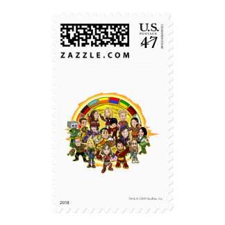 Altador Cup Staff Group Postage Stamp