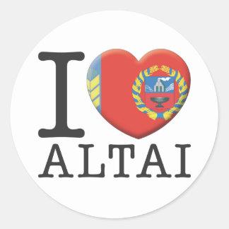 Altai Classic Round Sticker