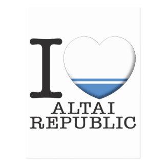 Altai Republic Postcard