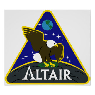 ALTAIR Lunar Exploration Vehicle Poster