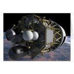 Altair Lunar Landing Craft Greeting Cards