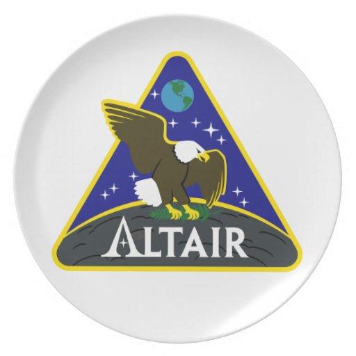 ALTAIR Lunar Rover Dinner Plates