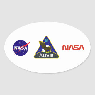 ALTAIR Lunar Rover Stickers