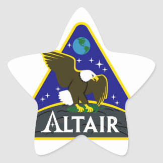 ALTAIR Lunar Rover Sticker