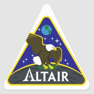 ALTAIR Lunar Rover Triangle Sticker